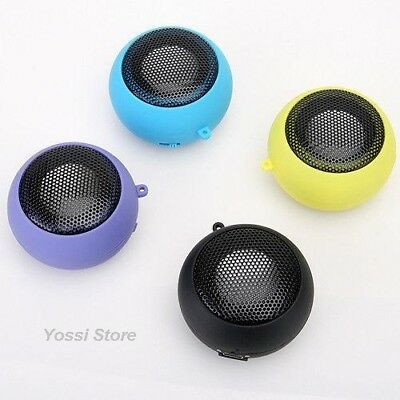 Mini Portable Hamburger Speaker For Ipod Laptop Tablet Iphone Pc Mp3 Black