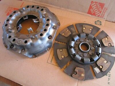 """Oliver tractor1850,1855,1950T,1955,2050 13"""" heavy duty clutch and pressure plate"""