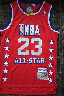 maillots NBA Michael Jordan All star game, taille  M  , NEUF