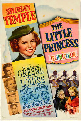 The Little Princess 1939 27.25x41 Orig Movie Poster FFF-65286 Rolled Ian Hunter