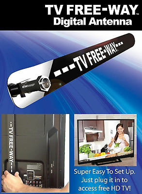 As Seen On TV Free-Way Clear HD Television Portable Digital Antenna Broadcast OP