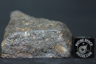 NWA Unclassified Meteorite Individual 32.6 grams with polished window