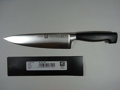 """NEW  ZWILLING J.A. Henckels Four Star 8"""" Chef's Knife  - 31071-200 - Germany"""