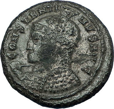 CONSTANTINE I the GREAT 318AD Authentic Ancient Roman Coin VICTORY Nike i65759