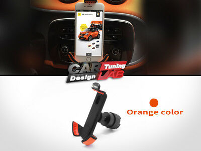 Orange Smart Car Smart Phone Bracket Holder Universal For  Smart Fortwo 453 C453