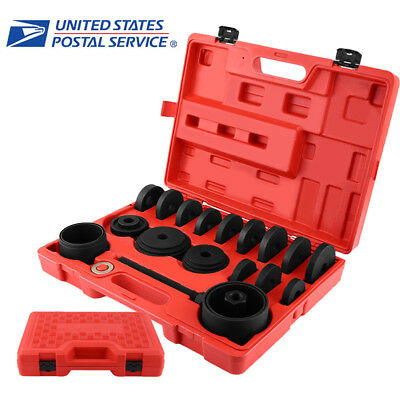 FWD Front Wheel Drive Bearing Removal Adapter Puller Pulley Tool Kit with Case