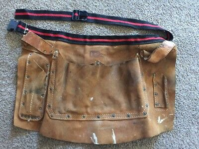 Leather Tool Belt Nail Apron Carpenter Electrician