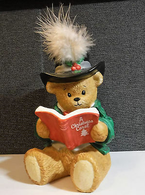 Chapeau Noelle ~ THOMAS ~ Boy Song Book Figurine by Lucy Rigg Limited Edition