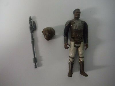 Vintage Star Wars Return of the Jedi 1982 LANDO CALRISSIAN SKIFF GUARD Kenner