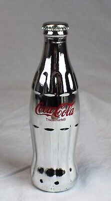 SILVER Coca Cola Bottle - Hard Rock Cafe - 25th Year 1996 Ltd Ed. #1628/3100