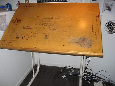 Drafting table - vintage