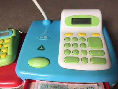 ELC Toy Cash Register with play money