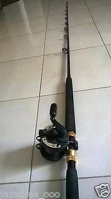 Wilson live fibre + Shimano TLD 20 - overhead reel 7 ft - 15 to 24 kg