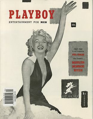 PLAYBOY MAGAZINE Issue #1 Mint; Reprint Factory Seal Marilyn Monroe Cover