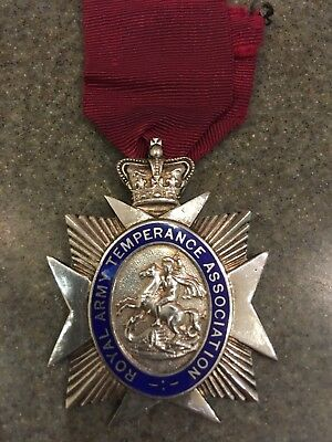 Royal Army Temperance Association Medal. Silver