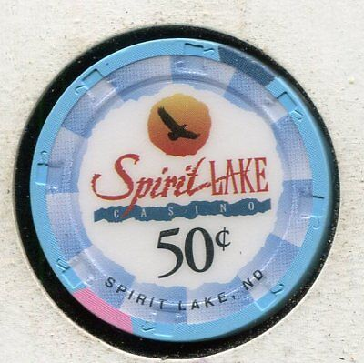 Spirit Lake 50c St Michael ND  CG3975  Additional Chips Ship for 25c !