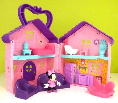 Fisher Price Disney Minnie Mouse Bowtigue House  Playlet and figure