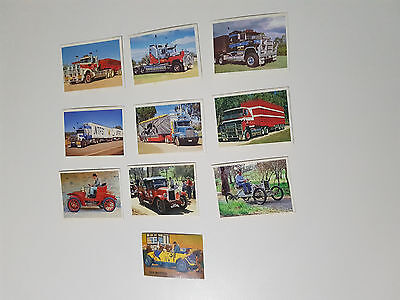 Weet Bix Cards 10 Cereal Cards Grand Prix Cars Trucks Kings Of The Road