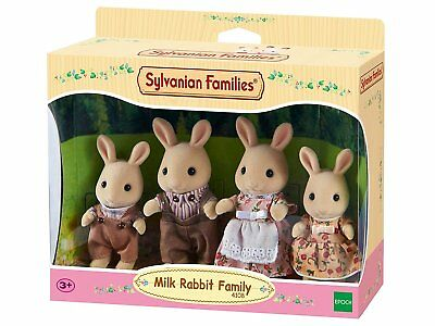 Sylvanian Families Milch Hase Familie