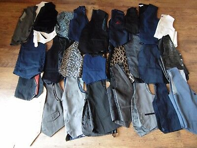 Joblot Wholesale 45 Boys Waistcoats Next H&m Etc
