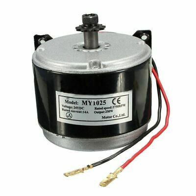 24V Electric Motor Brushed 250W 2750RPM Chain For E Scooter Drive Speed Con T3Y7