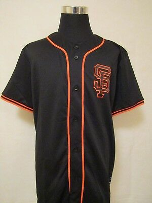 MLB San Francisco Giants XL Embroidered ALTERNATE Baseball Jersey by Majestic