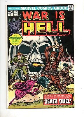 War is Hell #12 DEATH APPEARS! Very LOW PRINT RUN! VF+ 8.5 KEY THANOS BOOK! 9