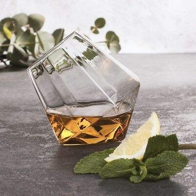 Diamond Whisky Glass