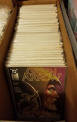 GREEN ARROW,FEB 1988, lot of 139 #1-132 NOT a complete run  Most VF/NM