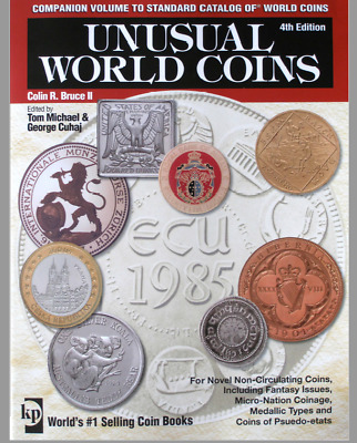 "Book ""unusual World Coins"" 4Th Edition - Krause  Collin R. Bruce Ii - 548 Pag."