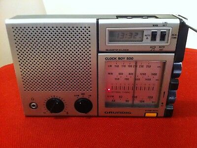 Radio Grundig Clock Boy 500