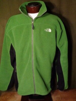MENS NORTH FACE JACKET SIZE XL GREEN Nice and Warm Polartec fleece
