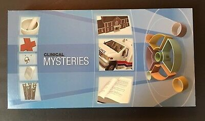 NEW Medical Dectectives: Clinical Mysteries Game by Amgen (2 Games Included)