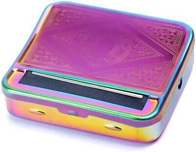 Automatic Rolling Machine Tobacco Case Tin Roller Rainbow Effect Special Blind