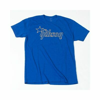 Gibson T-shirt Star Blue XXL