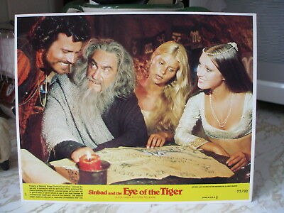"""1977 SINBAD and the EYE of the Tiger U.S. 8"""" x 10"""" Lobby Cards, Set of 8 Cards"""