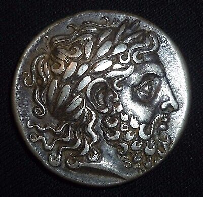 GREEK - MACEDONIAN KINGDOM - PHILIP II - Silver TETRADRACHM  Circa 342-336 BC