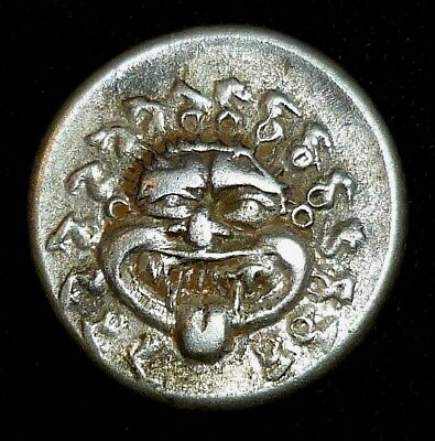 GREEK Ancient Coin SILVER DRACHM - Apollonia Pontika Circa 500-480 BC      -5529