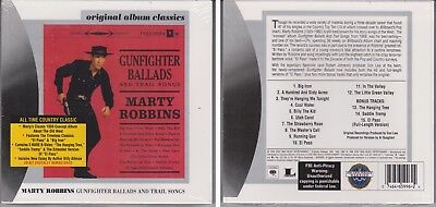 MARTY ROBBINS Gunfighter Ballads & Trail Songs 2006 [New Sealed] CD Country 1959
