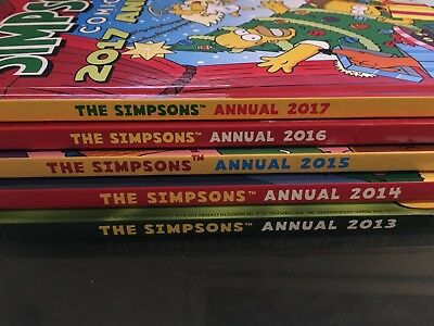 The Simpsons Annuals