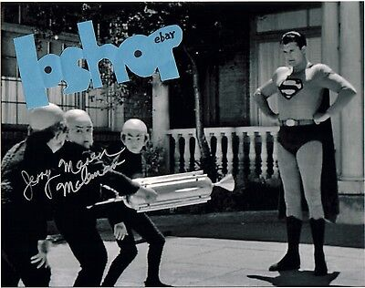 JERRY MAREN AUTOGRAPH signed PHOTO George Reeves SUPERMAN Mole Men Wizard of Oz