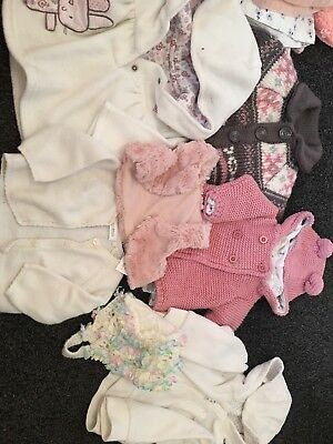 baby girl clothes 0-3 months bundle Next Mothercare H&M M&s
