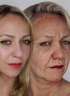 Kryolan Old Age Stipple - Alte Haut Latexmilch - Profi Special Effect Make Up