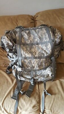 US Army Large Rucksack ACU Camo Backpack MOLLE II USGI Military NEW