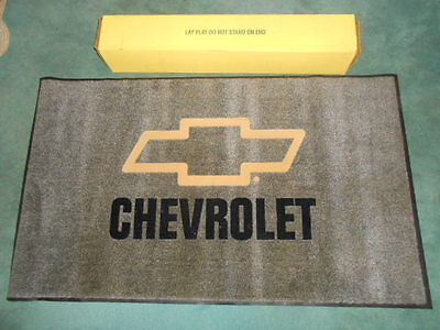 Chevrolet Dealership Showroom RUG / MAT / Carpet - New! 35x60 Chevy Bow Tie logo