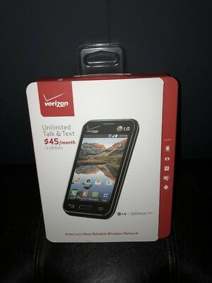 Brand New Sealed Verizon LG Optimus Zone 2 W/ $40 Verizon UNLIMITED Data Plan