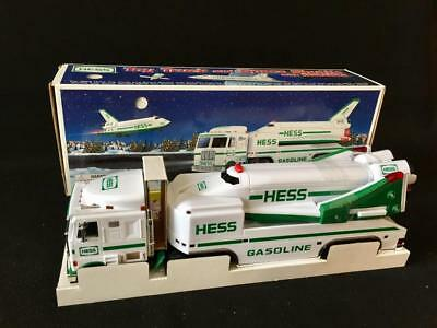 1999 Hess Truck And Space Shuttle New