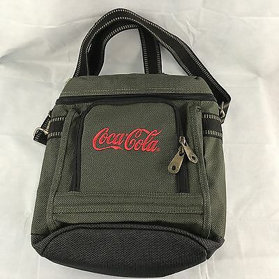 Golden Pacific COCA-COLA Insulated Lunch Bag Advertising Sign Green