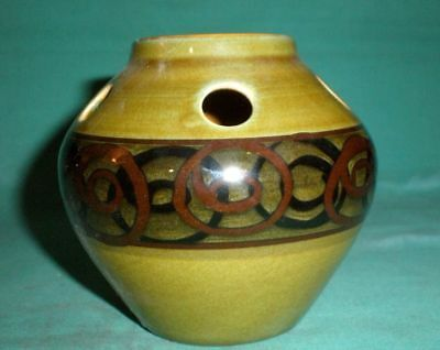 Vintage Devon Brixham, tea light burner/pottery/British