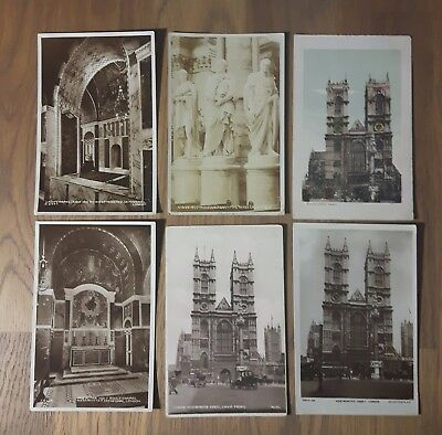 25 Westminster Abbey and Cathedral Postcards /Story of Westminster Abbey Booklet